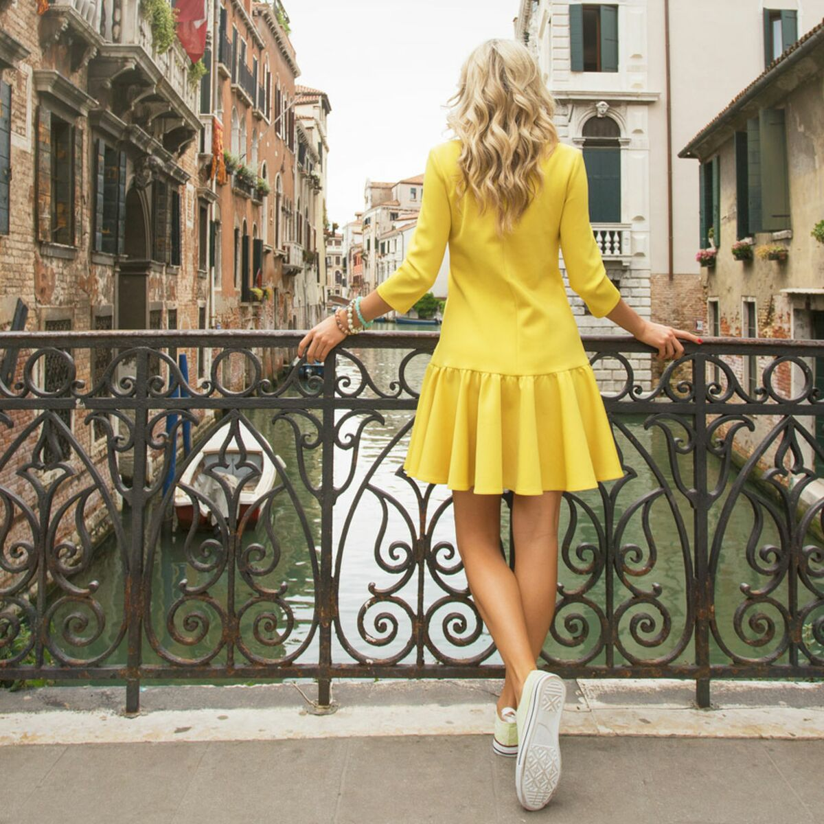 Robe Jaune On Ose Femme Actuelle Le Mag