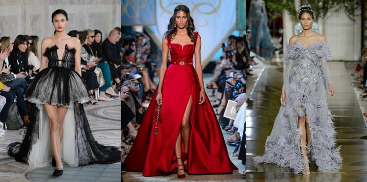 Défilés haute couture : les robes de rêve des podiums automne-hiver 2017-2018