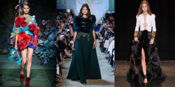 Défilés automne-hiver 2017-2018 : les plus beaux looks haute couture des créateurs