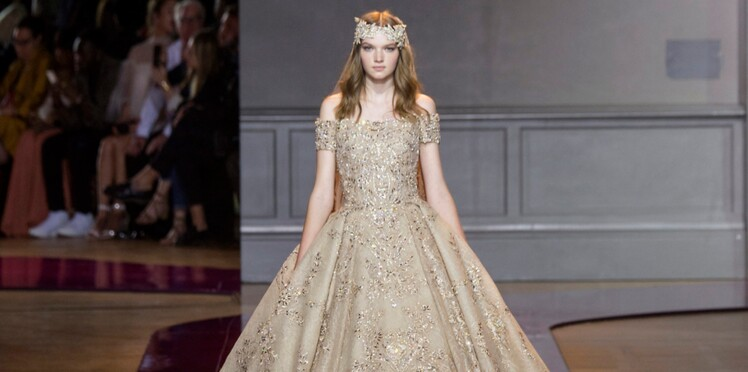 411a5397a64 Mariage   des robes de mariée de rêve pour s inspirer. Imaxtree   Défilé  haute couture Zuhair Murad