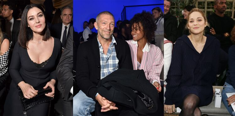 Vincent Cassel & Tina, Iris Mittenaere, Marion Cotillard... : les people sont tous aux défilés haute couture printemps-été 2018 à Paris !