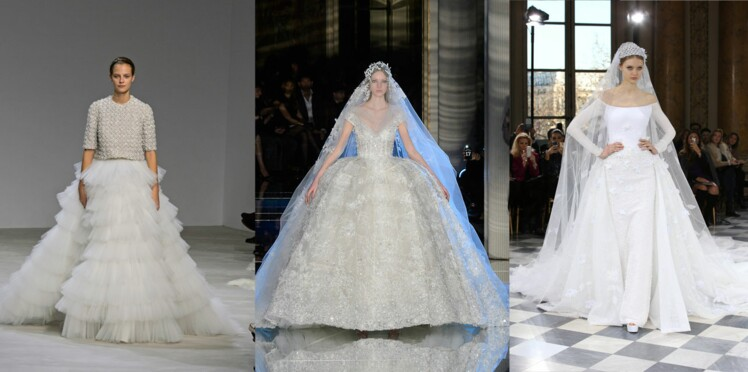 Mariage : robes de rêve sur les défilés haute couture printemps-été 2016