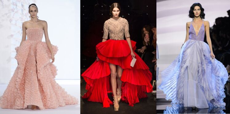 Robes de rêve sur les défilés haute couture