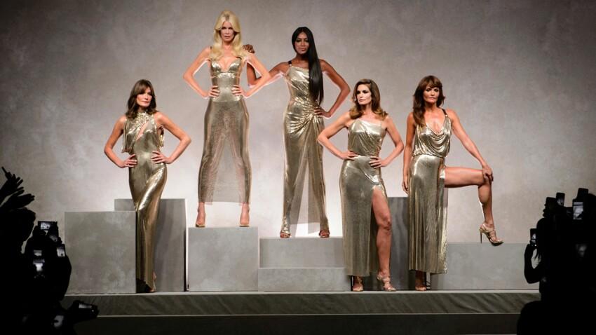 Les plus grands tops des années 90 reviennent pour la fashion week de Milan