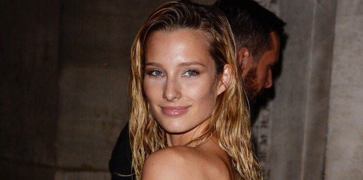 Ilona Smet, la petite-fille de Johnny Hallyday, pose topless pour la campagne sexy de Balmain