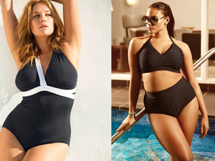 de2871db11 Maillots de bain grande taille : top des modèles pour sublimer ses formes :  Femme Actuelle Le MAG