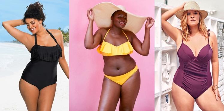 Mode ronde : 20 maillots de bain grande taille pour être la plus belle sur la plage