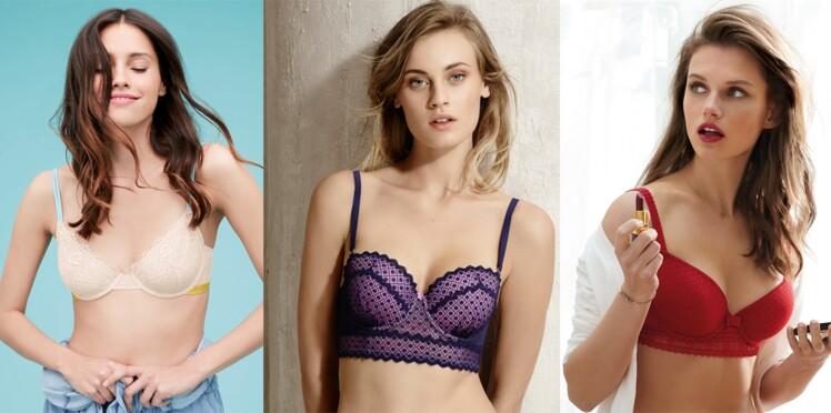 Soutiens-gorge   25 modèles à petit prix   Femme Actuelle Le MAG 3f2d4151465