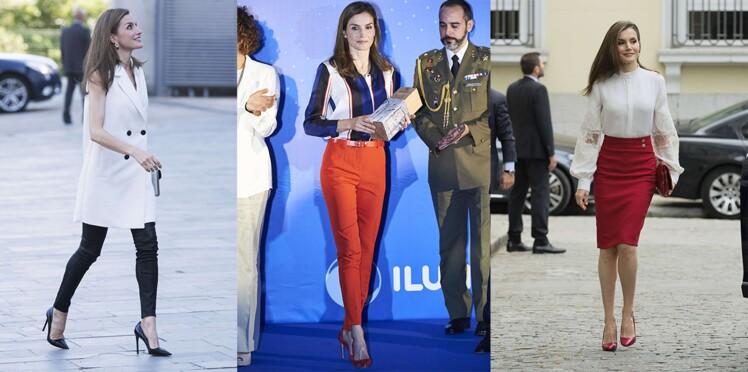 Photos - 10 looks qui prouvent que Letizia d'Espagne est une reine ultra stylée