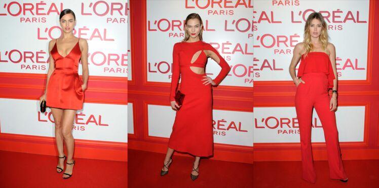 5 façons d'adopter le total look rouge repérées à la soirée L'Oréal Paris