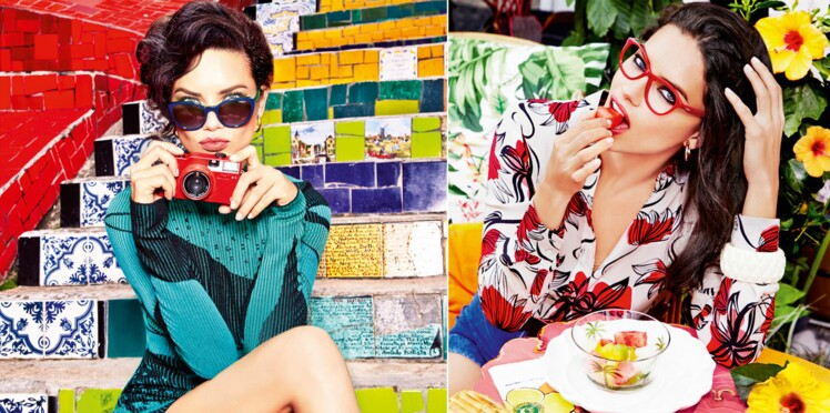 Adriana Lima, nouveau visage de Vogue Eyewear