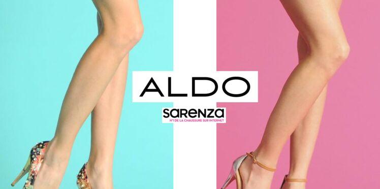 Aldo choisit Sarenza !