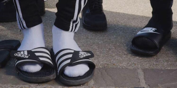 Alerte mode : le combo claquettes-chaussettes fait son come-back !