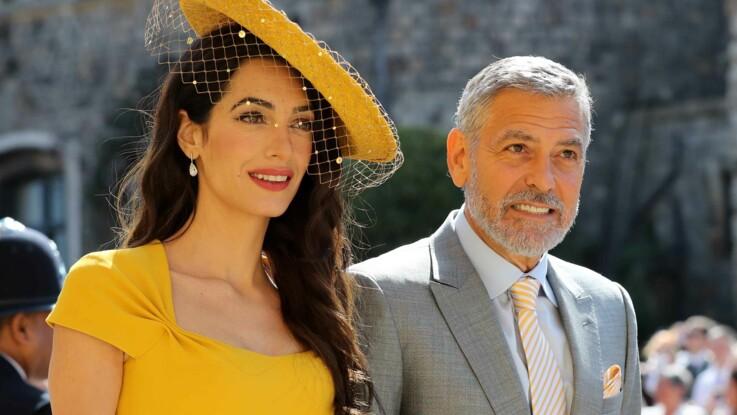 Amal Clooney : le prix astronomique de sa tenue au mariage de Meghan et Harry