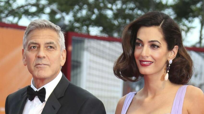 Amal Clooney, ravissante sur le red carpet de Venise
