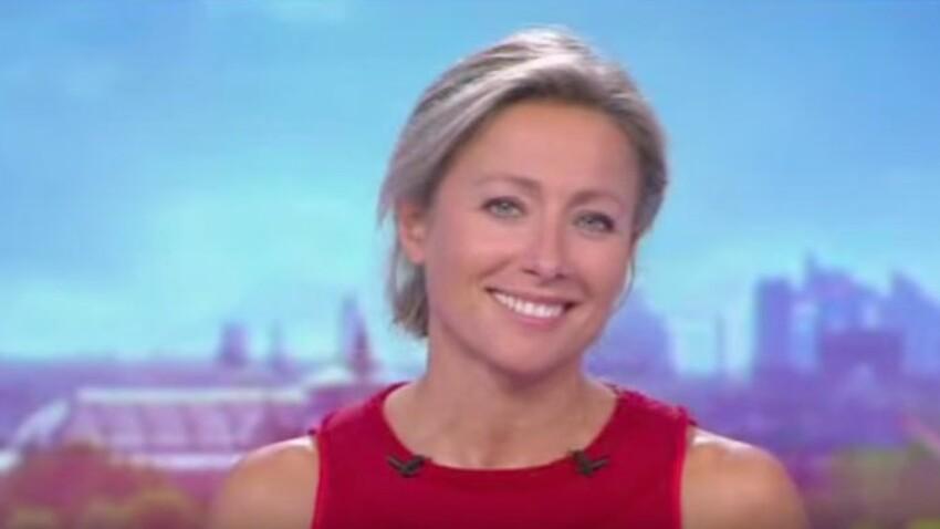 Anne-Sophie Lapix trop sexy pour son premier JT? Sa tenue fait jaser !