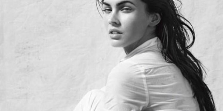 Armani : les images des publicités avec Megan Fox