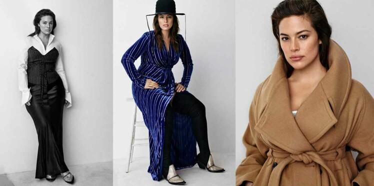 Ashley Graham, égérie H&M Studio