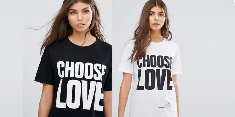 La marque Asos lance un tee-shirt pour venir en aide aux migrants