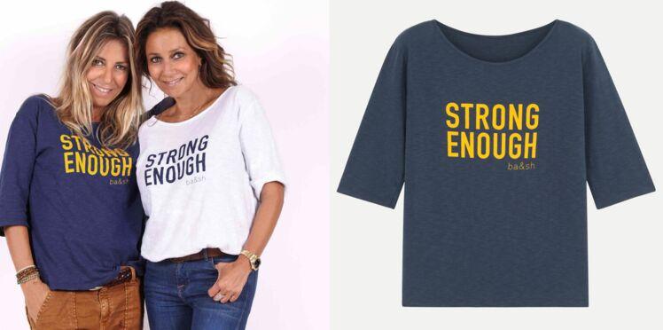 Octobre Rose : Ba&sh signe un t-shirt généreux