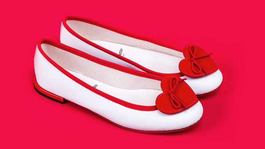 Crush pour les ballerines Repetto spéciales Saint-Valentin