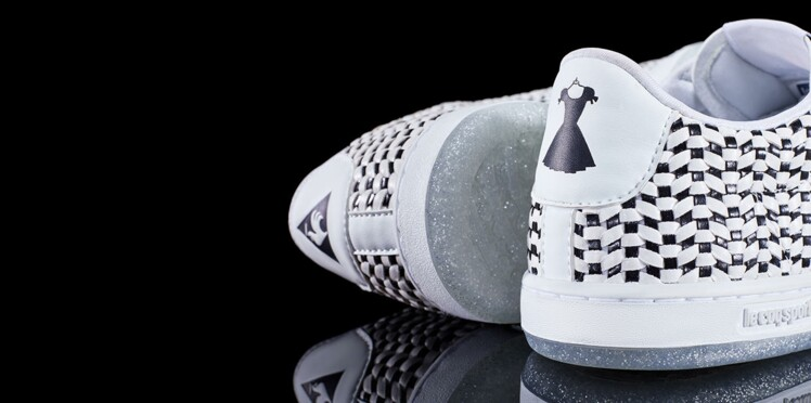 Alerte baskets collector : les sneakers Le Coq Sportif x Guerlain !