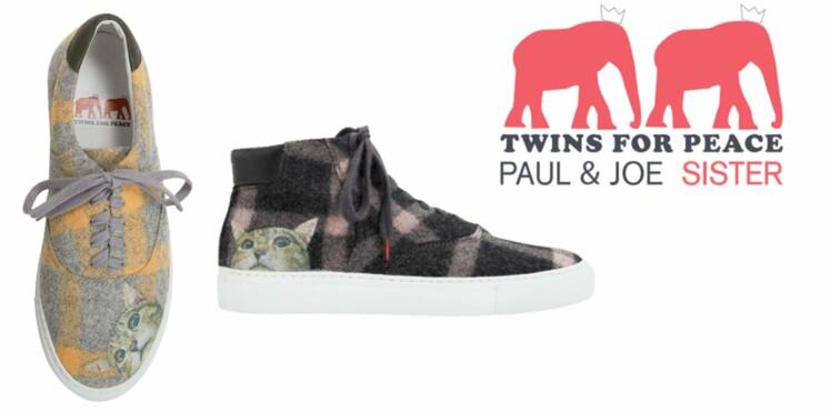 La basket Twins for Peace x Paul & Joe Sister