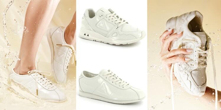 Le Coq Sportif : Amélie Pichard revisite deux modèles de sneakers