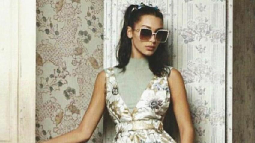 Bella Hadid, star rétro de la nouvelle campagne Fendi