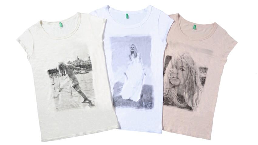 Benetton dédie des tee-shirts à la mythique BB