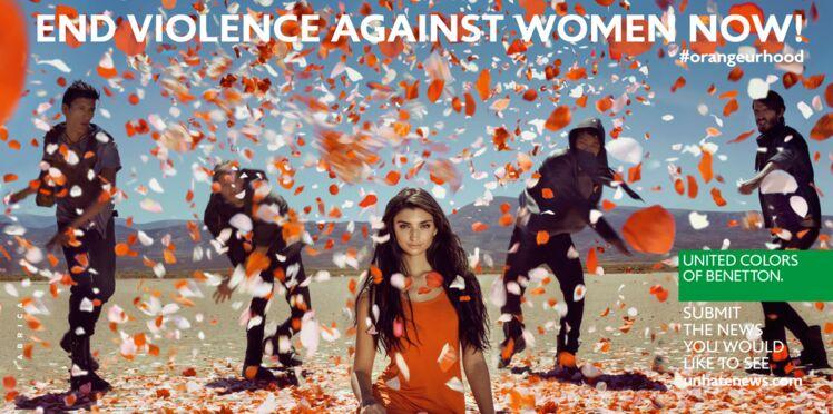 Benetton : une campagne pour la lutte contre la violence des femmes