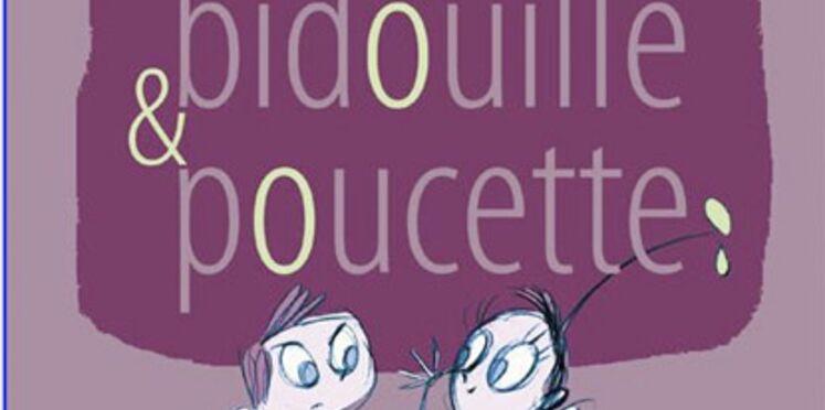 Bidouille et Poucette, des illustrations à imprimer sur des vêtements