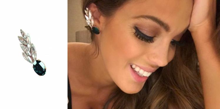 Le même bijou d'oreille qu'Iris Mittenaere ? Il est signé Marbella Paris !