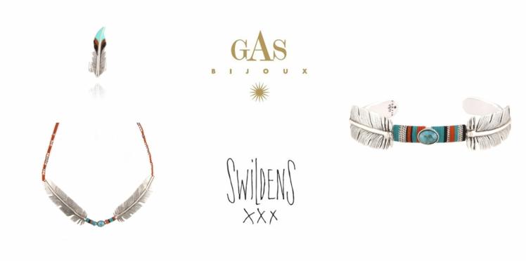 Une ligne de bijoux Gas Bijoux x Swildens