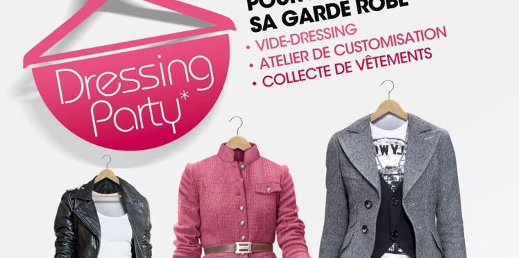 Les Dressings Party, un bon plan pour renouveler sa garde robe
