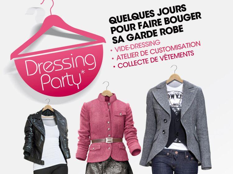 Les dressings party un bon plan pour renouveler sa garde robe femme actuelle le mag - Changer sa garde robe femme ...