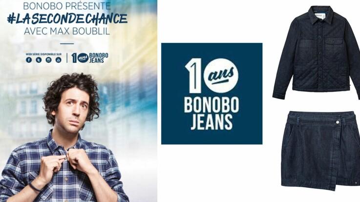 #lasecondechance : Bonobo Jeans fête ses 10 ans avec Max Boublil !