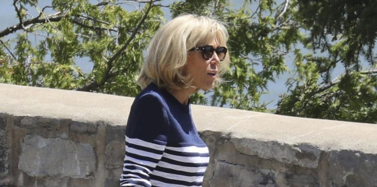 Brigitte Macron au G7 : ses baskets tendance font le buzz