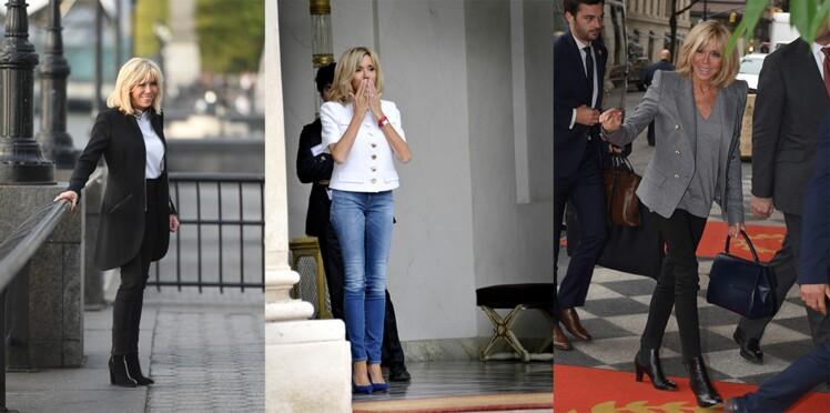 Brigitte Macron : on connaît sa marque de jean préférée !