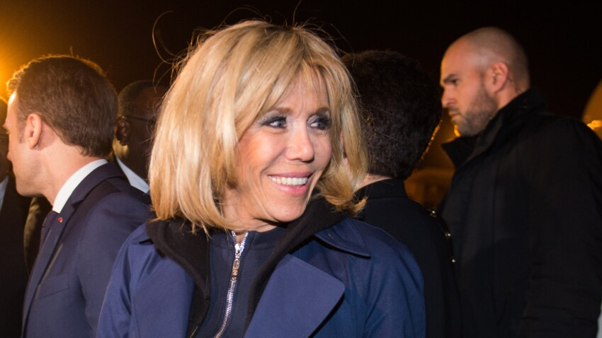 Brigitte Macron twiste son look militaire avec un accessoire surprenant