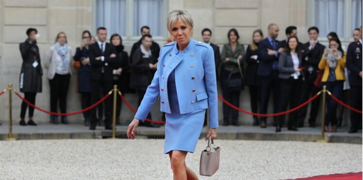 Photos - Brigitte Macron a une préférence pour les jupes courtes, on vous explique pourquoi