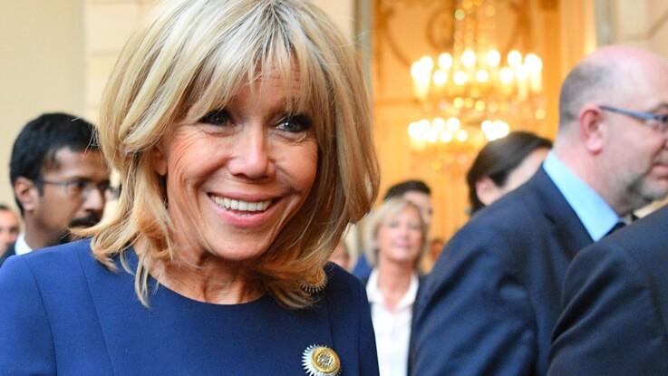 Brigitte Macron ose une robe surprenante à l'Elysée
