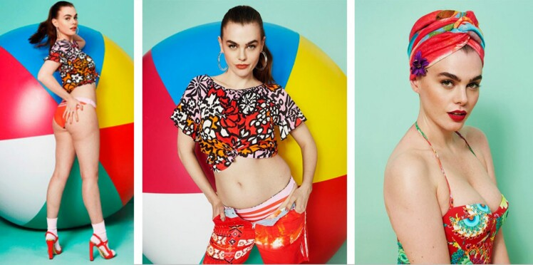 Peau d'orange et rondeurs : Desigual fait campagne pour ses maillots avec des photos non retouchées