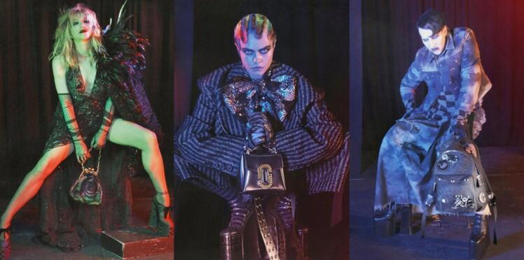 Défilé de stars pour la campagne Marc Jacobs