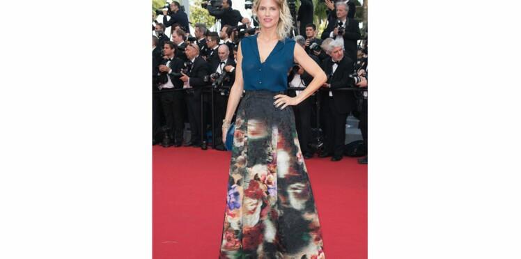 Cannes, en mode fleuri sur le tapis rouge