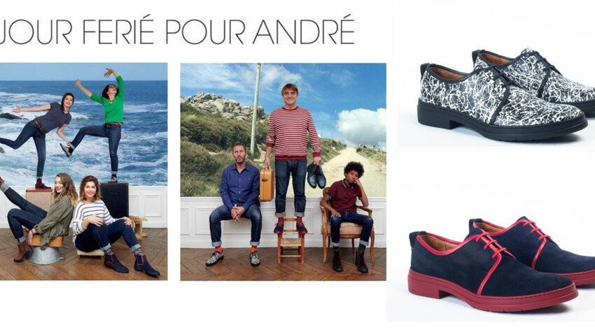 La capsule André x Jour Ferié