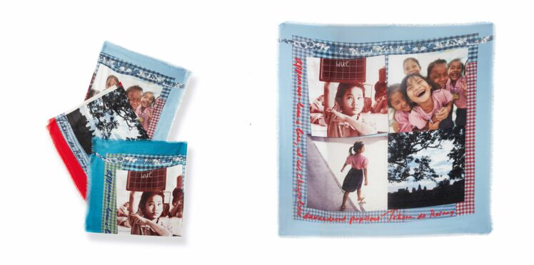 Caroll : un foulard pour soutenir l'éducation des filles