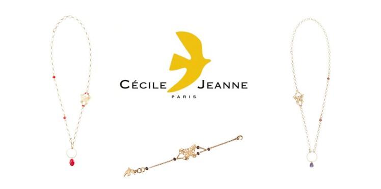 Deux bijoux Cécile & Jeanne en soutien aux femmes malades du cancer