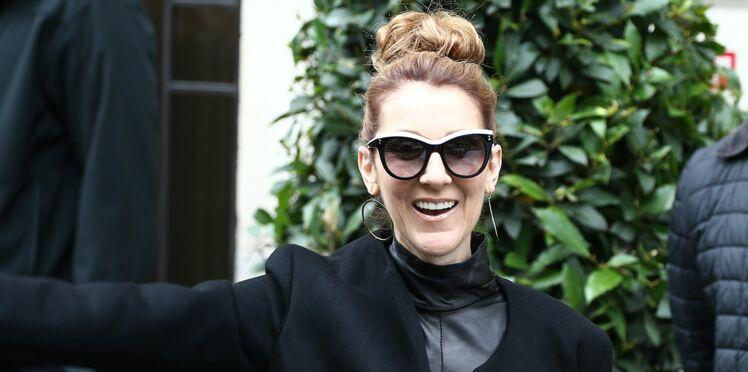 Céline Dion ose la combinaison transparente ultra sexy pour son retour en studio