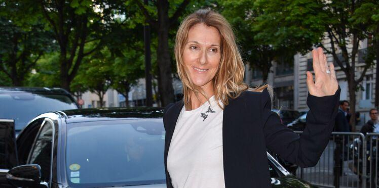 PHOTOS - Céline Dion en jean troué et sans maquillage à Paris
